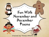 Fun With November and December Poetry