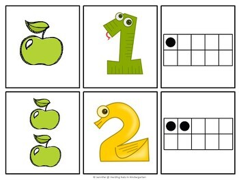 Fun With Numbers 1-10  - Counting and Ten Frames