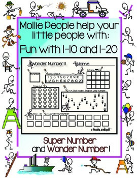 Fun With Numbers 1-10 and 1-20!
