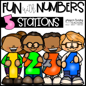 Fun With Numbers! (5 hands-on Number Centers!)