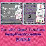 Fun With Object Functions Receptive/Expressive Bundle- SAVE!