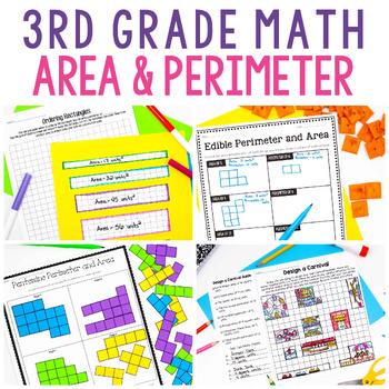 3rd grade area and perimeter lesson plan