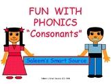 "Fun With Phonics ""Consonants"" by Barbara Saleem"