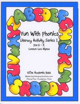 Fun With Phonics: Literacy Activities Series 1