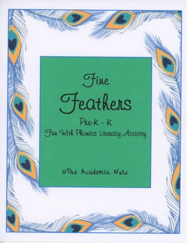 Fine Feathers Literacy Activity