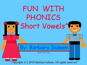 "Fun With Phonics ""Vowels"""