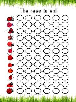 Fun With Probability: Ladybug Races & Other Probability Activities
