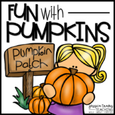 Fun With Pumpkins! {Math, Science, Literacy, & Crafts!}