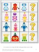 Robots Math and Literacy File Folder Games Summer School Special Education