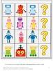 Robots File Folder Games