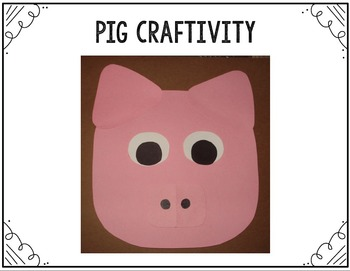 Fun With The Three Little Pigs {Math and Language Arts Activities}