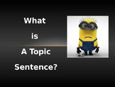 Fun With Topic Sentences!