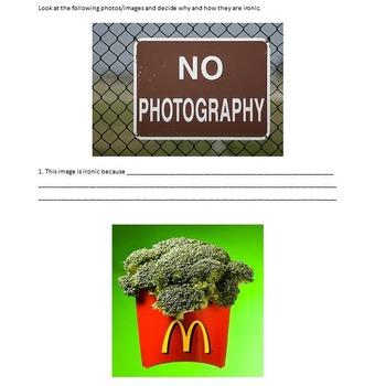 Fun With Visual Irony!