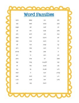 Fun With Word Work! - Phonics and Sight Word Flashcards
