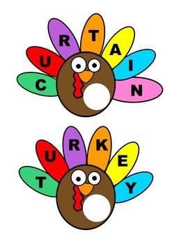 Thanksgiving Turkey ur Words