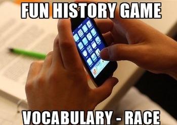 Fun World History Activity - Race to the Finish!