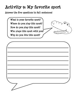 Fun Writing Activities for Children!