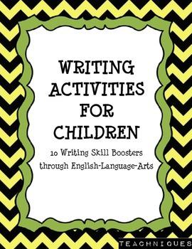★FREE★Fun Writing Activities for Children!