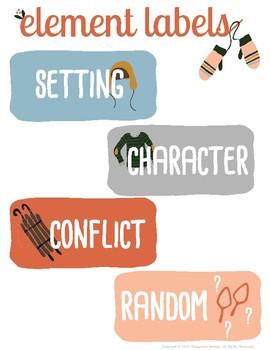 Fun Writing Activity--Take 4 Tales Winter Edition