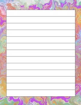 Fun Writing Paper Freebie