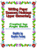 Fun Writing Paper Upper Elementary