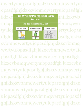 Fun Writing Prompts for Beginning Writers