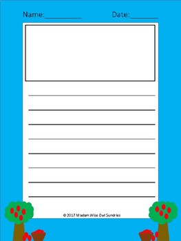 Fun Writing Sheets