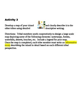 Fun Writing Unit, All Writing Genres, added Activities