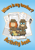 Fun activity booklet for when you have a substitute teache