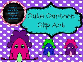 Fun and Cute Cartoon Face Clip Art