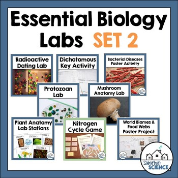 Fun and Easy Biology Labs: Set 2
