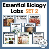 High School Biology Labs: Set 2 - Classification, Microorg