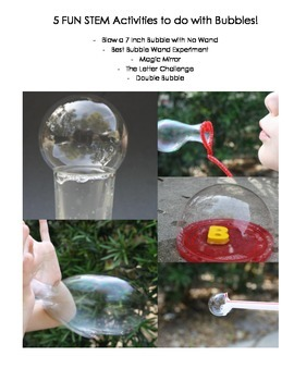Fun and Easy Bubble Experiments for Kids: STEM