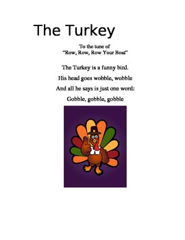 Fun and Educational Thanksgiving Songs