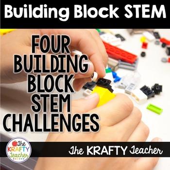 Fun, Engaging Building Brick Block STEM, STEAM Challenges!