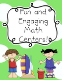 Fun and Engaging Math Centers