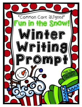 Fun and Engaging Winter Writing Prompt
