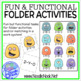 Fun and Functional Folder Activities for Centers, SpEd, or Autism Units