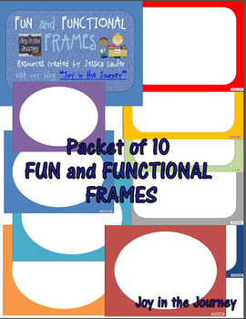 Fun and Functional Frames FREEBIE!