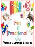 Fun and Functional Phonemic Awareness