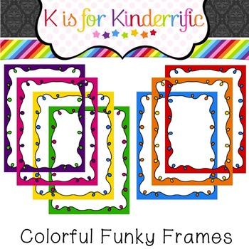 Fun and Funky Frames Freebie