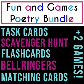 Fun and Games Poetry Bundle