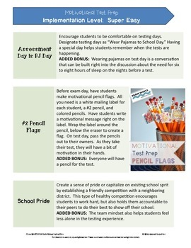 motivational test prep activities and resources by brain waves