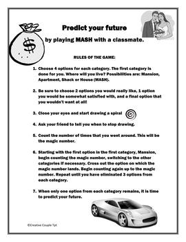 Back to School Activities  for TEENS - FUN AND ORIGINAL