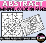 Fun and Simple Coloring Pages for Mindfulness Hand-drawn