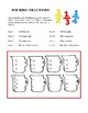 Fun and Unique Elementary Math - Volume 1 Worksheets