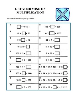 Fun and Unique Middle School Math - Volume 1, Activities and Worksheets