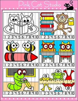 Beginning of the Year Sequencing Puzzles - Editable