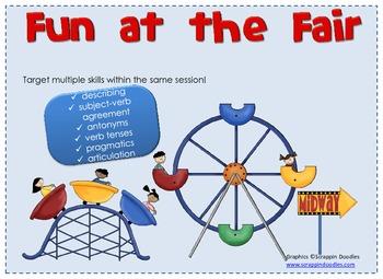 Fun at the Fair--Speech and Language Activities for a Carnival/Fair Theme