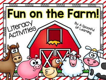 Fun on the Farm! Literacy & Writing Activities!
